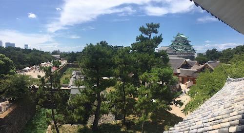 櫓から名古屋城